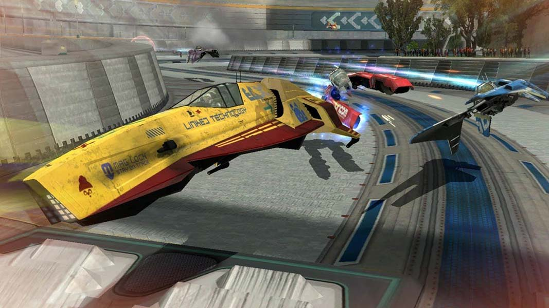 Foto de WipeOut Omega Collection tem bela capa nostalgica!