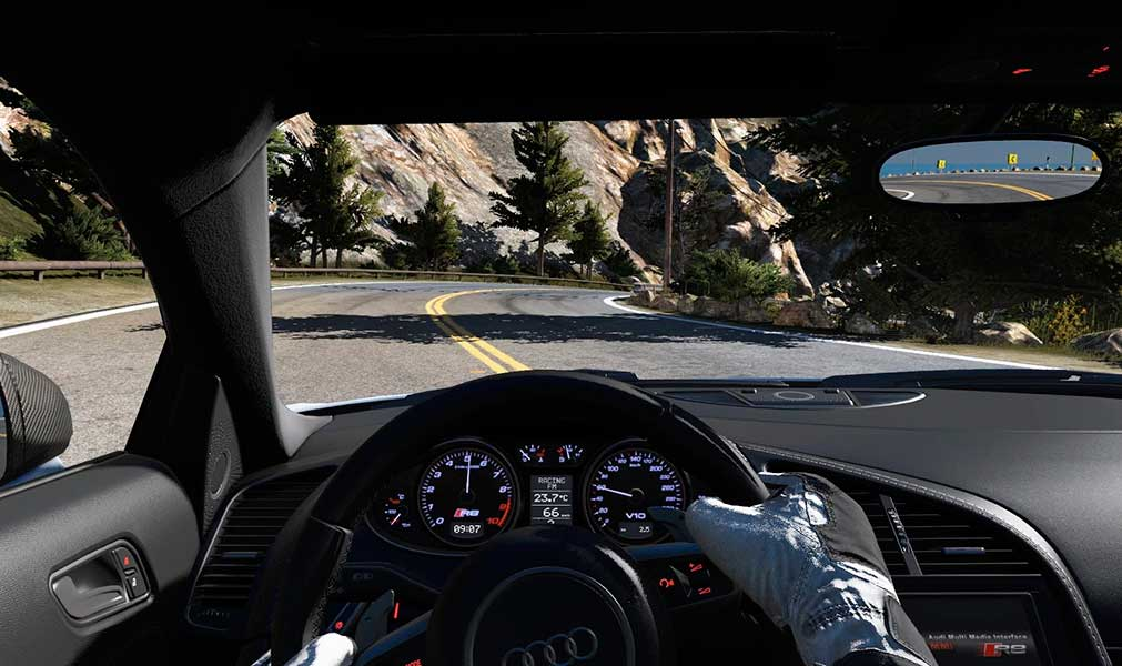 Photo of Gran Turismo Sport rodando no Playstation 4 PRO