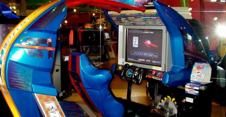 Foto de F-ZERO AX encontrado na versão F-Zero do GameCube