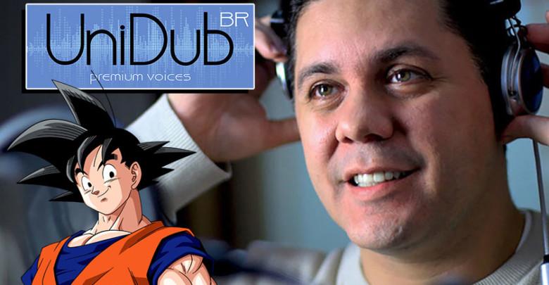 Foto de Wendel Bezerra nos apresenta toda equipe de dublagem de Dragon Ball Super